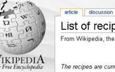La cucina su Wikipedia