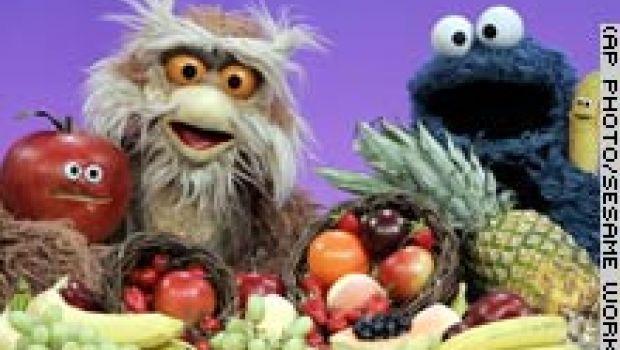 Educazione alimentare a Sesame Street
