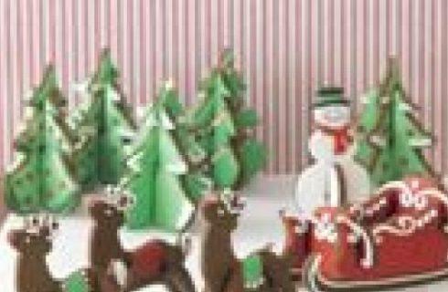 Biscotti di Natale in 3D