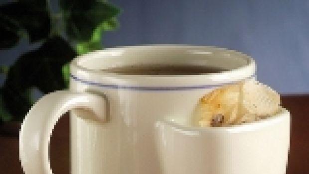 La tazza con la tasca