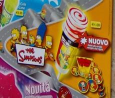 Il gelato dei Simpson