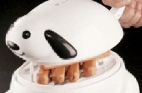 Dog hot dog cooker