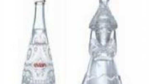 """Evian """"limited edition"""" firmata Christian Lacroix"""