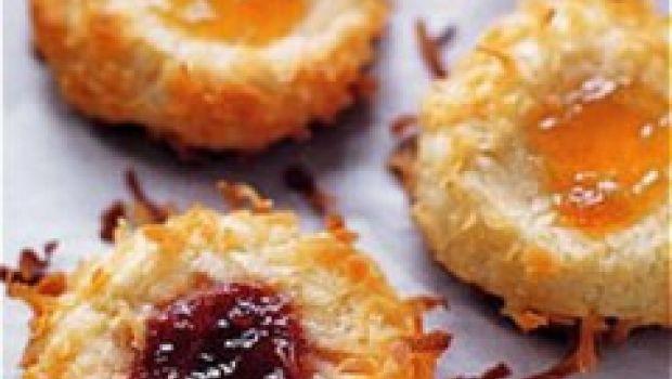 Ricette per i vostri biscotti: Thumbprint cookies
