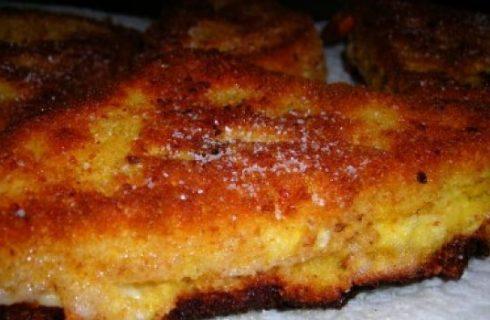 La mozzarella in carrozza, ricetta tradizionale della Campania