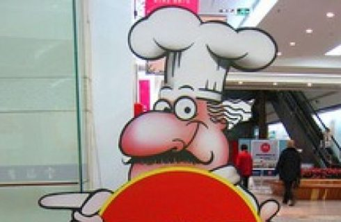 La gastronomia tricolore in Piazza Italia, a Pechino