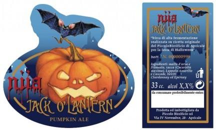 Jack o'Lantern, la birra di Halloween secondo il Piccolo Birrificio