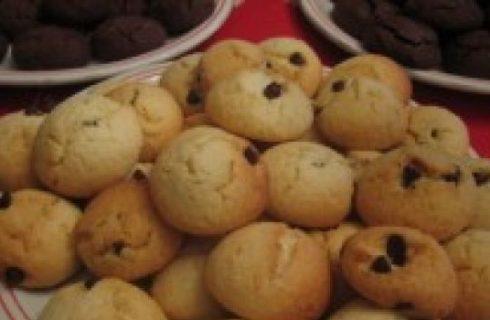 Ricette biscotti di Natale: ciocchini al cocco