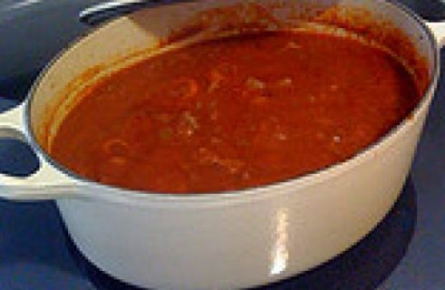 La ricetta del sugo di carne genovese, U tuccu.