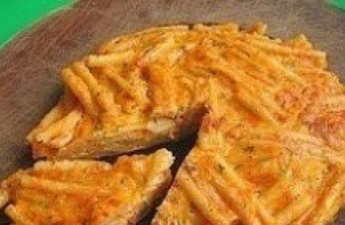 Ricetta facile e gustosa: Frittata di pasta