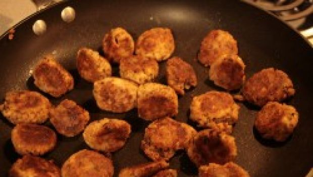 Ricetta facile giapponese: polpettine di tofu e alghe