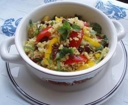 Ricetta primo piatto: Cous Cous vegetariano