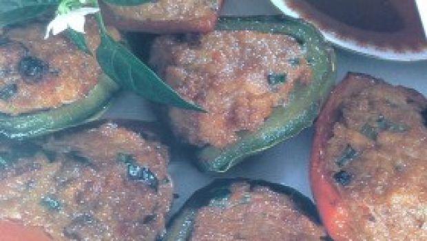 Ricetta facile di verdura: peperoni ripieni