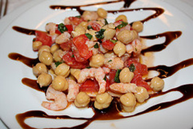 Ricette estive: ceci con olive e miele