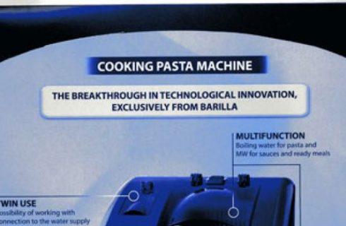 La Barilla lancia Cooking Pasta Machine: pasta pronta in un minuto