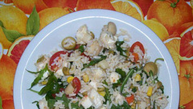 Ricette estive: insalata di riso allo zafferano