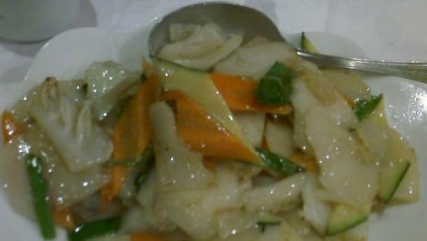 Ricetta facile primo: gnocchi di riso cinesi
