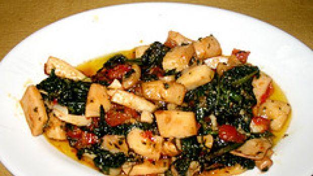 Ricetta facile: seppie saltate con verdure