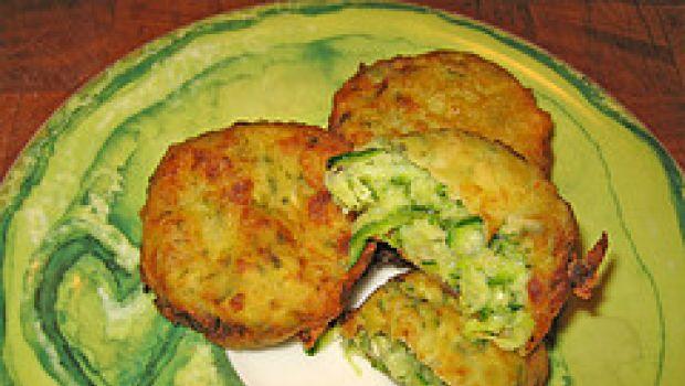 Ricette contorni: frittelle croccanti di zucchine