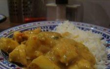 Ricetta facile secondo: vitello al curry
