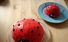 Torte particolari serie 2: ricetta della torta a coccinella