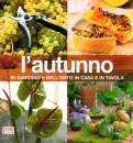 Il tortino di zucca con semi di papavero e un libro di ricette autunnali