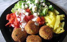 Ricette vegetariane: crocchette di ceci al curry