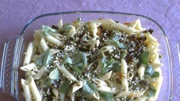Ricetta per Natale: pasta tricolore con olive