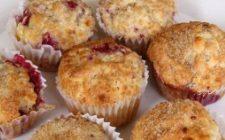 Ricetta facile dolce: muffin con lamponi