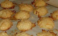 Ricetta facile dolce: biscotti al cocco