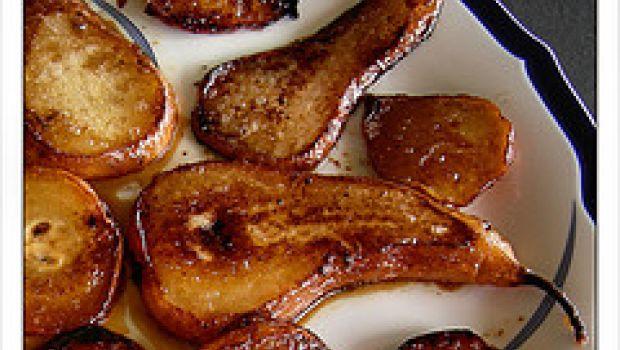 Ricette facili: sfoglia con pere e scalogni