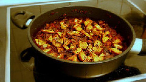 Ricette vegetariane: padellata di porcini alle olive