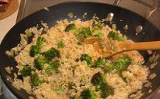 Ricette facili: risotto con broccoletti e paprika