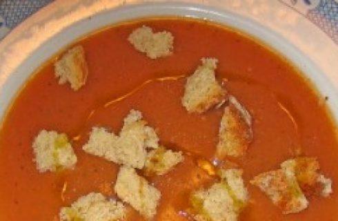 Piatti tipici: Zuppa di patate Toscana.