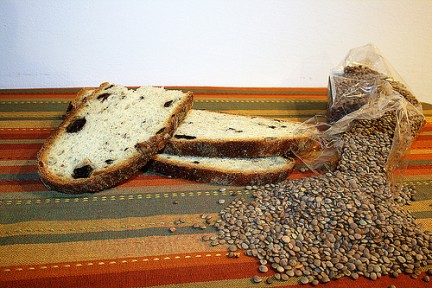 Ricette per il cenone di Capodanno: lenticchie con pane fritto