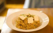 Ricetta facile primo: riso alla zucca e formaggio
