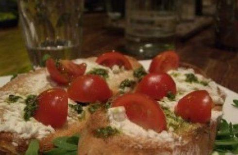 Italiano? Non solo pizza, anche bruschetta
