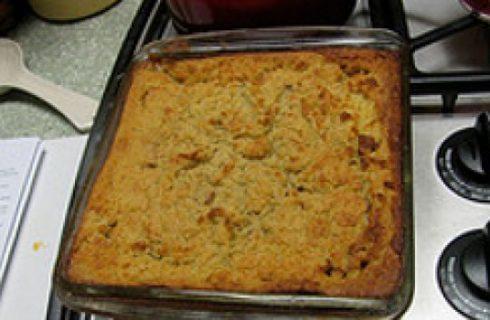 Ricette facili: tortino di patate con cipolle