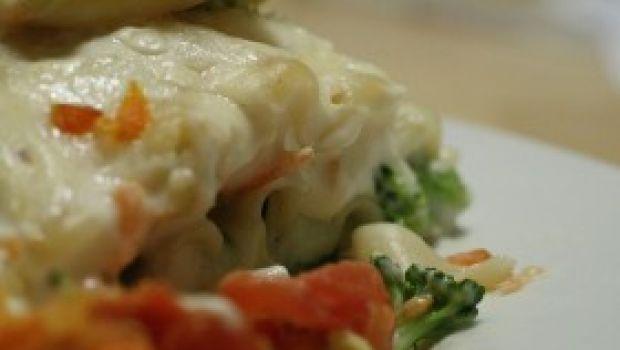 Primi pesce: la lasagna salmone e spada