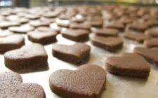 Ricetta biscotti per San Valentino: cuoricini croccanti al cioccolato