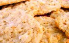 Ricetta dolce facile: biscotti al cocco e limone