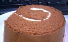 Ricetta dolce facile: rotolo al cioccolato e mandarino