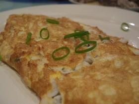 Ricette secondi: l'omelette funghi ed emmenthal