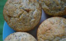 Ricetta dolce facile: muffin limone e semi di papavero