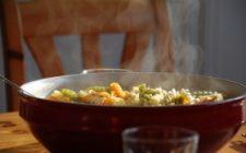 Ricette vegetariane: fusilli di farro con spinaci e ceci