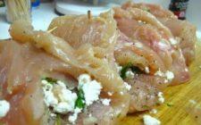 Ricetta facile: rotoli di pollo e salsiccia