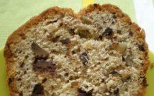 Ricetta dolce: panetto alle gocce di cioccolato e noci