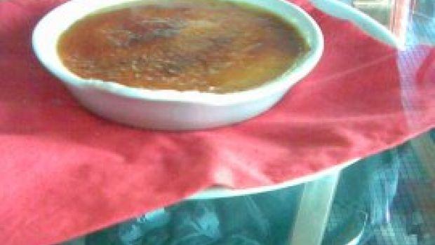 Ricette Dolci: crème brulé ai fichi e pan speziato.