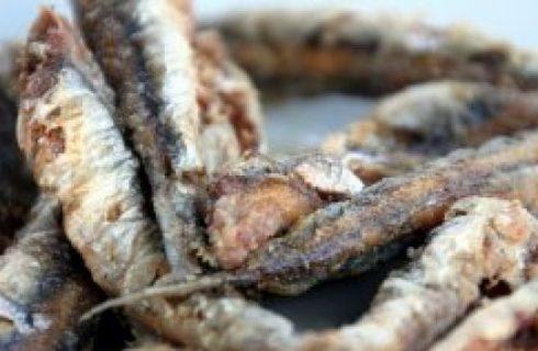 Ricette pesce: acciughe fritte al lime