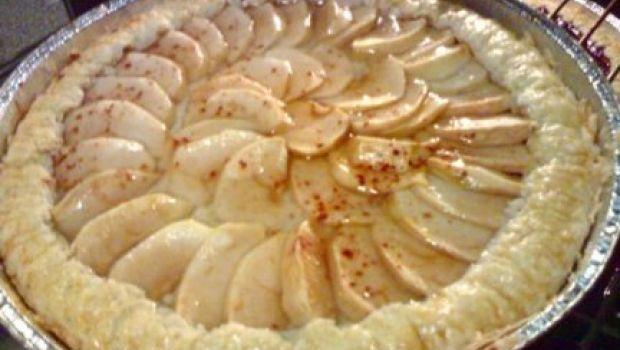 Torta di mele con gelatina